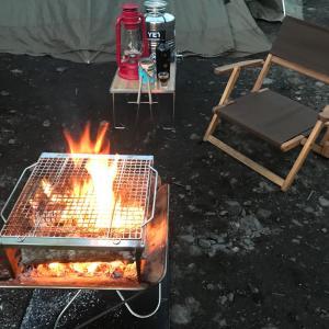 焚き火は良いねー♪(^-^)