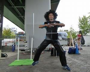 「サカハロ大道芸フェスティバル2019」でラグビーを堪能…〆はラーメン…サンキュー手塚さん!!