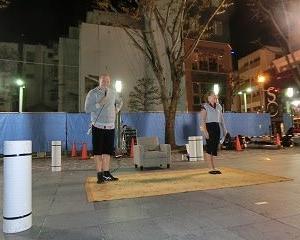「大道芸ワールドカップin静岡2019」アクロバット&夫婦喧嘩…笑…はたからみてると楽しい「ケイト&パシィ」のパフォーマンス!