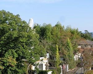 多治見市虎渓公園の平和観音像…