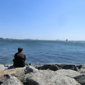 ヘミングウェイの…羽豆岬にて…