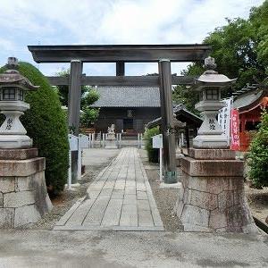 半田市の業葉神社、「斐芽の祠(力石)」を参拝する!!