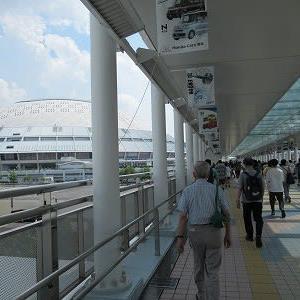 2021・7・31…バンテリンドームナゴヤでエキビションマッチ「中日・日本ハム」戦
