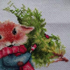 MOUSE WITH FIR TREE (7)