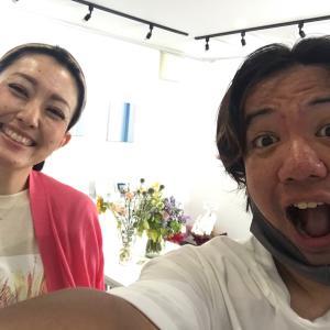 鳳Arts-Bギャラリーで倉永真紀子