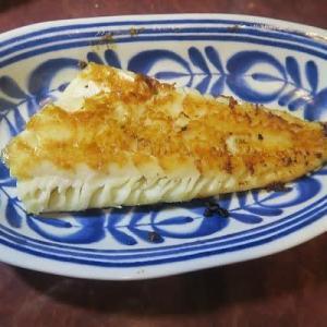 タラのフィレのバター焼き