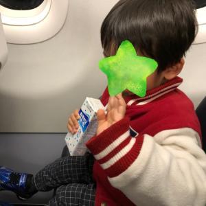 【3歳の息子と二人でハワイ旅】エアアジア便。両替し忘れ飛行機へ(T_T)