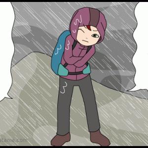 登山あるある(071)自然現象