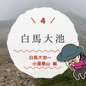 白馬大池でテント泊(4)小蓮華山