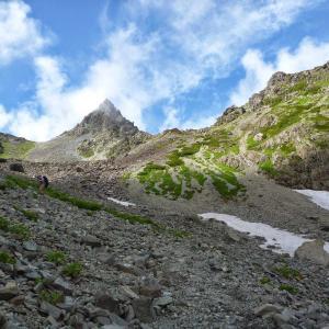 槍ヶ岳への登山をカウントしてみた。