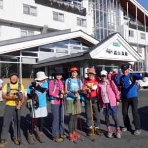 2020大山&蒜山登山ツアー:3日目蒜山(ひるぜん)登山