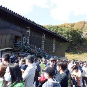2020秋・塩の道トレイルツアー:2日目白馬岩岳マウンテンリゾート
