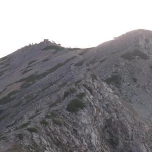 2019薬師岳登山:2日目