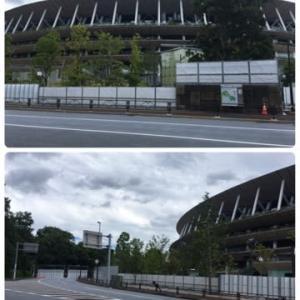 新国立競技場の今 2021年6月20日