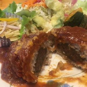 【いちじくカフェ ✨「キッチンさわ」さんにて「いちじくハンバーグ」】