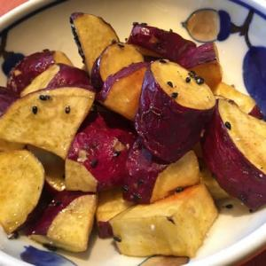 【「紅はるか」と「シルクスイート」の焼き芋🍠&「紅あずま」大学芋」】