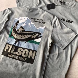 FILSONのプリントTシャツ入荷‼