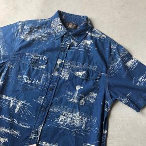 RRLのインディゴワークシャツ‼