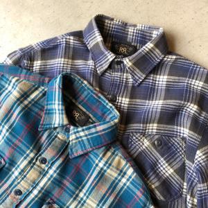 RRLのネルシャツ‼