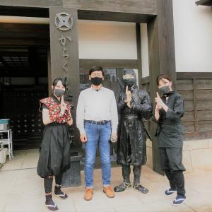 小雨の京都巡り「太秦映画村」を観る