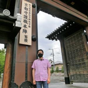 会津墓地を廻り稽古技量を見る