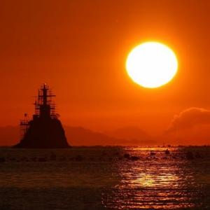 吉田のダルマ夕陽 11月6日