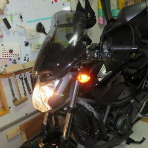 バイク バッテリー交換 ナビ交換
