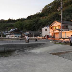 赤松のダルマ夕陽 4月10日