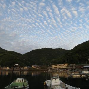 津島町の夕陽