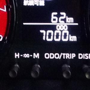 7000km.