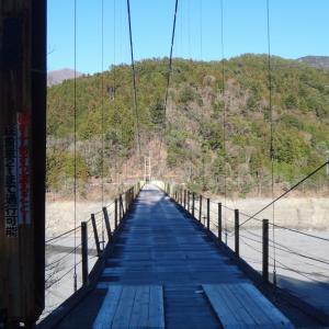 井川湖周辺の林道(静岡市葵区)
