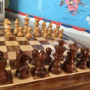 タンクとチェスの週末