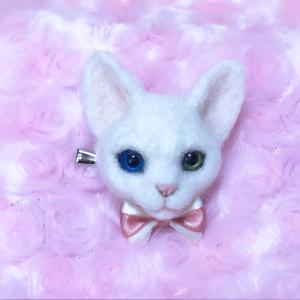 ♪白猫ブローチとネイアニのブース決定