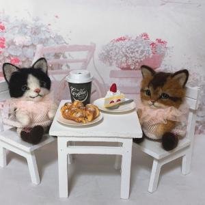 ♪クロワッサンと茶白猫の尻尾