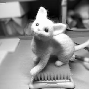 ♪羊毛・エクレア・ソーイングボックス