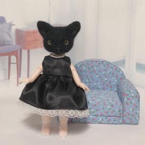 ♪黒ちゃんのお洋服縫い上がりました
