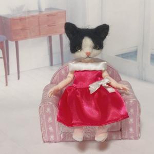 ♪猫達のお洋服紹介も最後の1着になりました