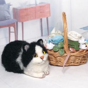 ♪ハチワレ猫さんと手作りパン