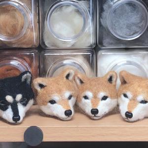♪柴犬制作中とギャラリー展示まで1週間を切りました
