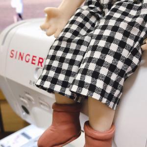 ♪人形の衣装制作中