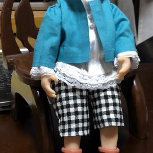 ♪ウフッ、人形衣装が完成しました