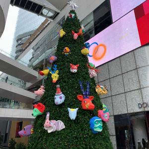 主夫の毎日 七夕飾りみたいにクリスマスツリーに願いごと