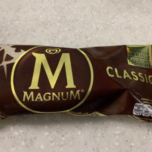 主夫の毎日 世界一の売上マグナムアイスを食べる
