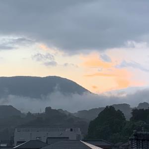 主夫の毎日 雲海と日の出