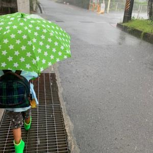 主夫の毎日 記録的短時間大雨情報出されても~