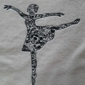 タオルに刺繍♪