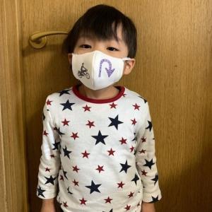 子供用マスクの試作品♪