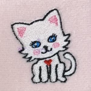 小さな刺繍♪
