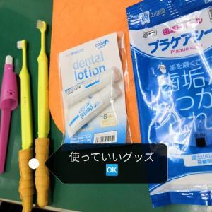 歯磨き練習② 今度は、歯ブラシも使ってみよう