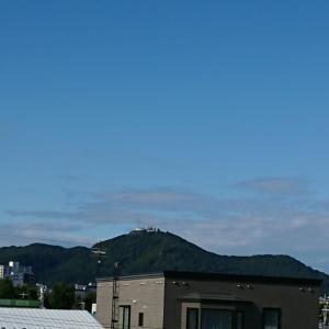 今朝は爽やか秋風・・・